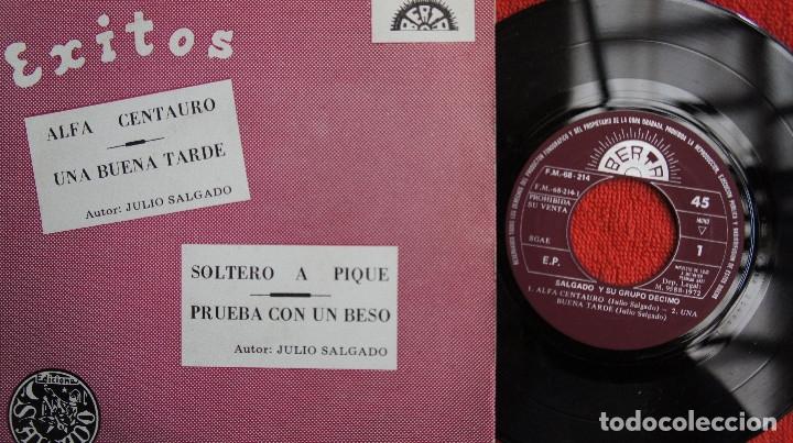 SALGADO Y SU GRUPO DECIMO - ALFA CENTAURO + 3 - PROMO 1972 (Música - Discos de Vinilo - EPs - Grupos Españoles de los 70 y 80)