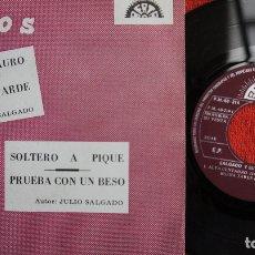 Discos de vinilo: SALGADO Y SU GRUPO DECIMO - ALFA CENTAURO + 3 - PROMO 1972. Lote 183291070
