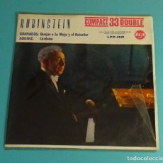 Discos de vinilo: RUBINSTEIN. SOLO CARPETA SIN VINILO. Lote 183291656