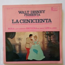 Discos de vinilo: DISCO CUENTO - LA CENICIENTA. Lote 183291765