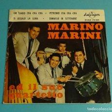 Discos de vinilo: MARINO MARINI. SOLO CARPETA SIN VINILO. Lote 183291886