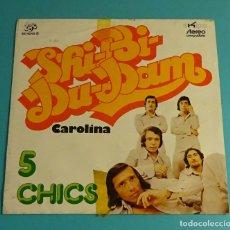 Discos de vinilo: 5 CHICS. SOLO CARPETA SIN VINILO. Lote 183292201