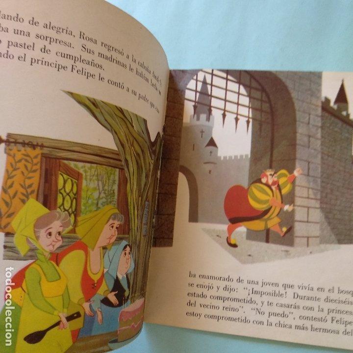 Discos de vinilo: DISCO CUENTO - LA BELLA DURMIENTE - WALT DISNEY - ORIGINAL AÑOS SESENTAS - Foto 2 - 183292205
