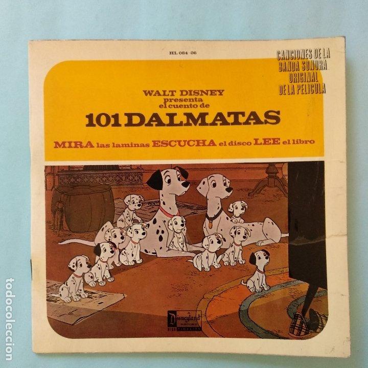 DISCO CUENTO - 101 DALMATAS - WALT DISNEY - ORIGINAL AÑOS SESENTAS (Música - Discos de Vinilo - EPs - Música Infantil)