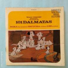 Discos de vinilo: DISCO CUENTO - 101 DALMATAS. Lote 183292245