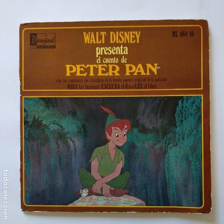 DISCO CUENTO - PETER PAN (Música - Discos de Vinilo - EPs - Música Infantil)