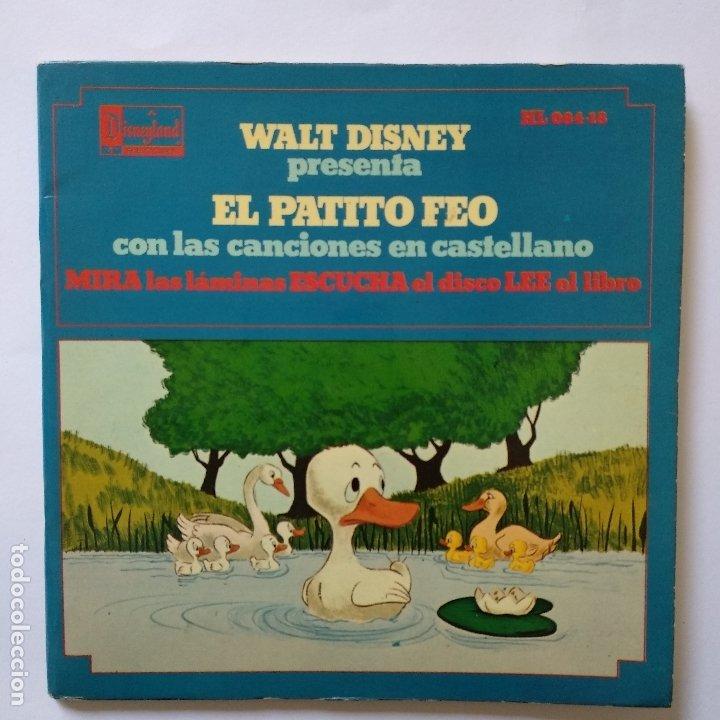 DISCO CUENTO - EL PATITO FEO (Música - Discos de Vinilo - EPs - Música Infantil)
