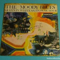 Discos de vinilo: THE MOODY BLUES. SOLO CARPETA SIN VINILO. Lote 183292586