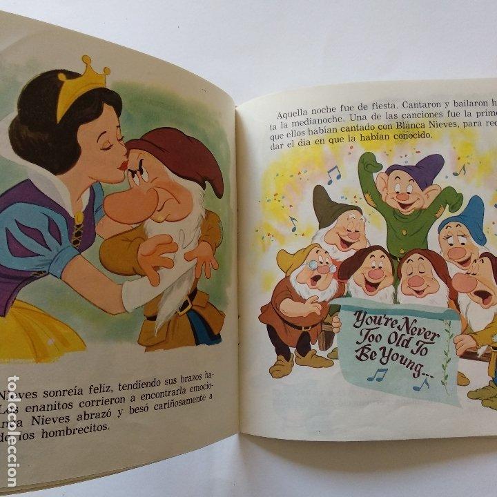 Discos de vinilo: DISCO CUENTO - LOS SIETE ENANITOS Y LA MINA DE DIAMANTES - Foto 2 - 183292628