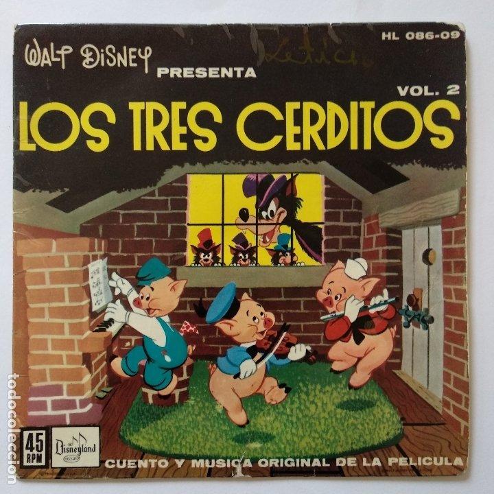 LOS TRES CERDITOS (Música - Discos de Vinilo - EPs - Música Infantil)