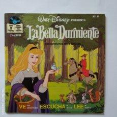 Discos de vinilo: DISCO CUENTO - LA BELLA DURMIENTE. Lote 183292985