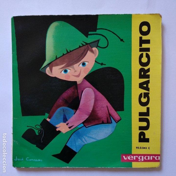 DISCO CUENTO - PULGARCITO (Música - Discos de Vinilo - EPs - Música Infantil)