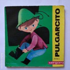 Discos de vinilo: DISCO CUENTO - PULGARCITO. Lote 183293021