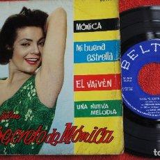 Discos de vinilo: EL SECRETO DE MONICA - MONICA + 3 - BELTER 1962. Lote 183293821