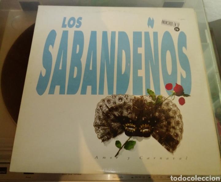 LOS SABANDEÑOS - AMOR Y CARNAVAL. 2 LP (Música - Discos - LP Vinilo - Grupos Españoles de los 70 y 80)
