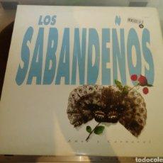 Disques de vinyle: LOS SABANDEÑOS - AMOR Y CARNAVAL. 2 LP. Lote 183295893