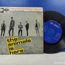 Discos de vinilo: SINGLE DISCO VINILO THE ANIMALS THE ANIMALS IS HERE. Lote 183298535