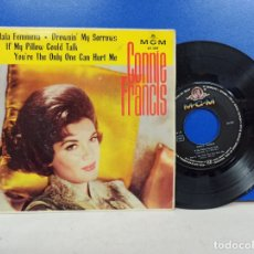 Discos de vinilo: SINGLE DISCO VINILO CONNIE FRANCIS MALA FEMMENA + 3. Lote 183298791