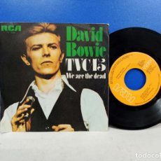 Discos de vinilo: SINGLE DISCO VINILO DAVID BOWIE TVC 15 TVC15. Lote 183299207