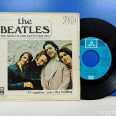 Discos de vinilo: SINGLE DISCO VINILO THE BEATLES SINGLES COLECCION NUMERO 20. Lote 183300225