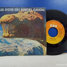 Discos de vinilo: SINGLE DISCO VINILO BLUE OYSTER CULT ANGEL CAIDO. Lote 183300433