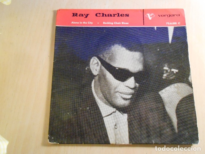 RAY CHARLES, EP, ROCKING CHAIR BLUES + 3, AÑO 1963 (Música - Discos de Vinilo - EPs - Jazz, Jazz-Rock, Blues y R&B)