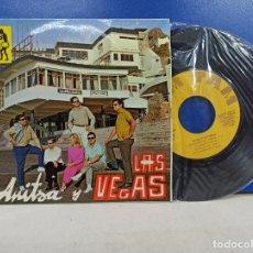 Discos de vinilo: SINGLE DISCO VINILO ANITSA Y LAS VEGAS. Lote 183304630