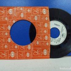 Discos de vinilo: SINGLE DISCO VINILO TABACA MUJER DISCO PROMOCIONAL. Lote 183305098