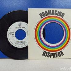 Discos de vinilo: SINGLE DISCO VINILO PALOMA SAN BASILIO SAVE ME DISCO PROMOCIONAL. Lote 183307700