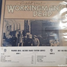 Discos de vinilo: THE GRATEFUL DEAD WORKINGMAN S DEAD PRIMER ALBUM PRIMERA EDICION ANTES DE SALIR AL MERCADO. Lote 183308841