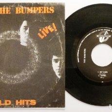 Discos de vinilo: THE BUMPERS / OLD HITS - LIVE! / EP 7 INCH. Lote 183309033