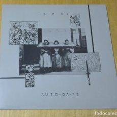 Discos de vinilo: S.P.K. - AUTO-DA-FÉ (LP REEDICIÓN) NUEVO SIN ESTRENAR. Lote 237371110