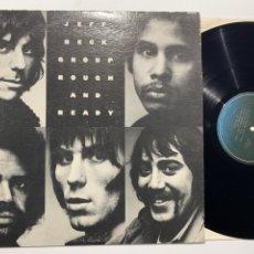 Discos de vinilo: DISCO LP VINILO JEFF BECK GROUP ROUGH AND READY EDICION USA DE 1983. Lote 183312006