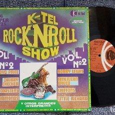 Discos de vinilo: ROCKNROLL SHOW. 16 SUPER HITS. AÑO 1978.GRANDES INTERPRETES DE ROCK AND ROLL.. Lote 183313247