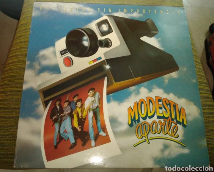 MODESTIA APARTE - HISTORIAS SIN IMPORTANCIA (Música - Discos - LP Vinilo - Grupos Españoles de los 70 y 80)
