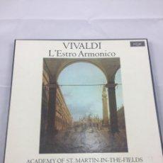 Discos de vinilo: VIVALDI L'ESTRO ARMÓNICO VINILO. Lote 183315828