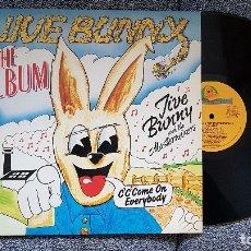 Discos de vinilo: JIVE BUNNY - THE ALBUM . AÑO1980. Lote 183316752