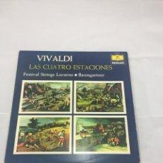 Discos de vinilo: VIVALDI LAS 4 ESTACIONES ( VINILO). Lote 183316761