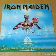 Discos de vinilo: IRON MAIDEN - SEVENTH SON OF A SEVENTH SON (LP REEDICIÓN) NUEVO. Lote 183317263
