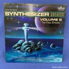 Discos de vinilo: LP SYNTHESIZER - ARCADE - AÑO 1991 - MUY BUEN ESTADO DE CONSERVACIÓN . Lote 183319756