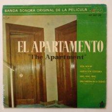 Discos de vinilo: EP EL APARTAMENTO - BANDA SONORA ORIGINAL - THE APARTMENT. Lote 183320172