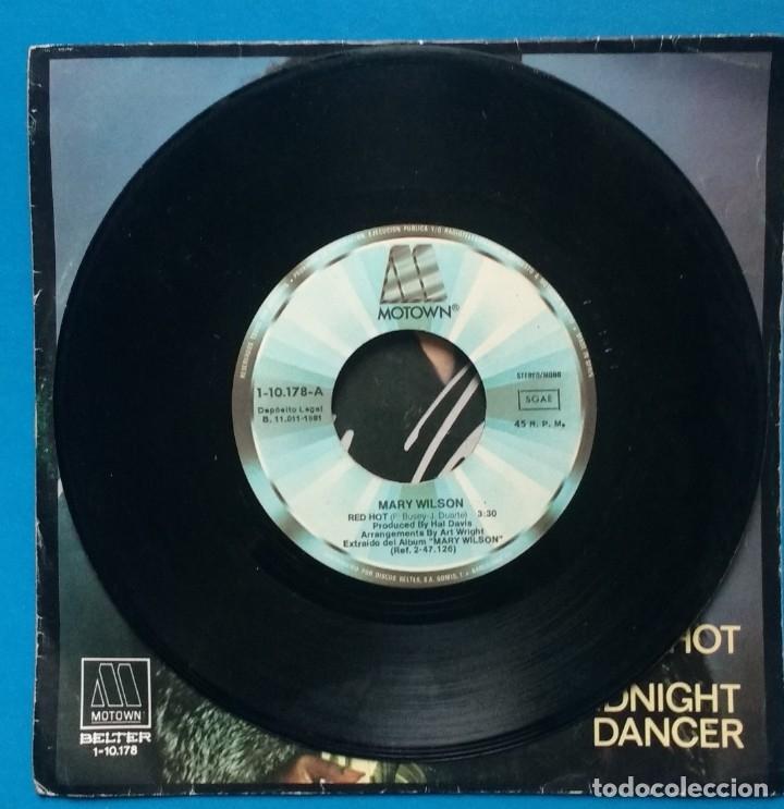 Discos de vinilo: MARY WILSON - RED HOT - Foto 3 - 183321366