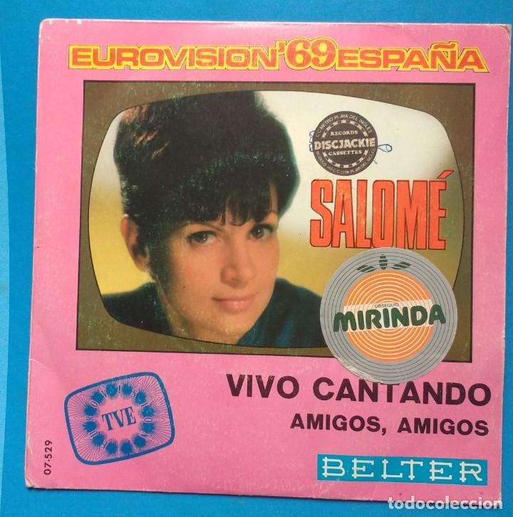 SALOME – VIVO CANTANDO (Música - Discos - Singles Vinilo - Festival de Eurovisión)