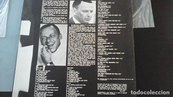 Discos de vinilo: FRANK SINATRA LOS EXITOS DE FRANK SINATRA VOL.1 y 2 2xLP 1974 CARNABY GATEFOLD EDICION - Foto 3 - 183323637
