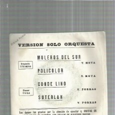 Discos de vinilo: TITO MOYA MULEROS DEL SUR. Lote 183324877