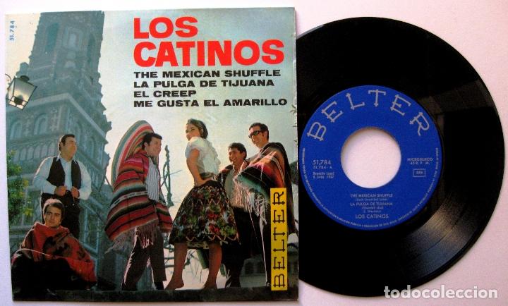 LOS CATINOS - THE MEXICAN SHUFFLE +3 - EP BELTER 1967 BPY (Música - Discos de Vinilo - EPs - Grupos Españoles 50 y 60)