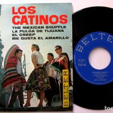 Discos de vinilo: LOS CATINOS - THE MEXICAN SHUFFLE +3 - EP BELTER 1967 BPY. Lote 183325700