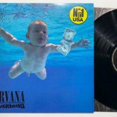 Discos de vinilo: DISCO LP VINILO NIRVANA NEVERMIND EDICIÓN ORIGINAL ESPAÑOLA DE 1991. Lote 183325907