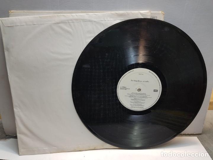 Discos de vinilo: LP-PET SHOP BOYS-ACTUALLY en funda original 1987 - Foto 3 - 183327585