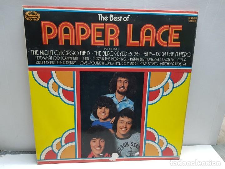 LP-PAPER LACE-THE BEST OF EN FUNDA ORIGINAL 1974 (Música - Discos - LP Vinilo - Pop - Rock - New Wave Extranjero de los 80)